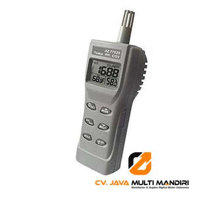 Alat Ukur Karbondioksida, Suhu dan RH Meter AMTAST 77535