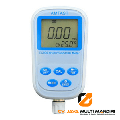 Alat Ukur 8 IN 1 Professional pH/ mV Conductivity/ DO Meter EC900