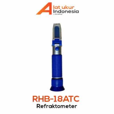 Alat Ukur Refraktometer AMTAST RHB-18ATC