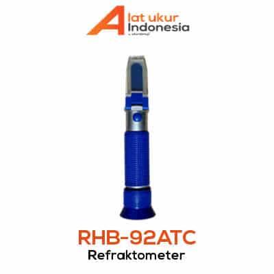 Alat Ukur Refraktometer Brix AMTAST RHB-92ATC