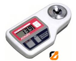 Digital Refractometer Etil Alkohol Atago PET-109