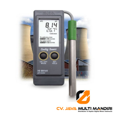 Boiler and Cooling Tower pH Portable Meter HANNA INSTRUMENT HI99141