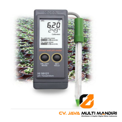 Direct Soil Measurement pH Portable Meter HANNA INSTRUMENT HI99121