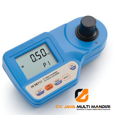 Free and Total Chlorine Portable Photometer – HI96711