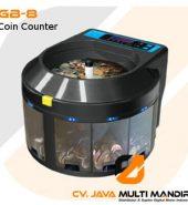 Alat Penghitung dan Pemilah Koin Campuran GB-8