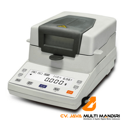 Halogen moisture analyzer