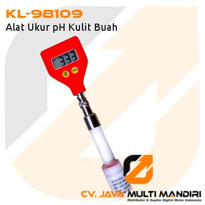 Alat ukur pH kulit Buah KL-98109