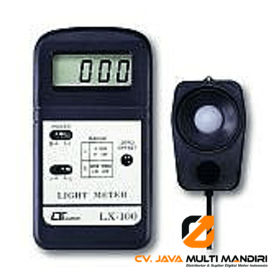 Ligh Meter Lutron LX-100