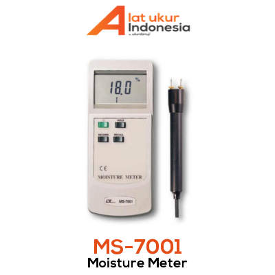 Alat Ukur Kadar Air Kayu Lutron MS-7001