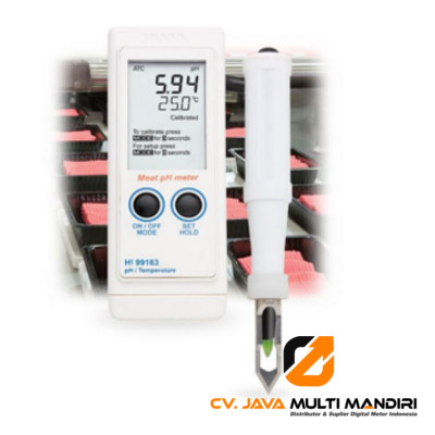 Meat pH Portable Meter HANNA INSTRUMENT HI99163
