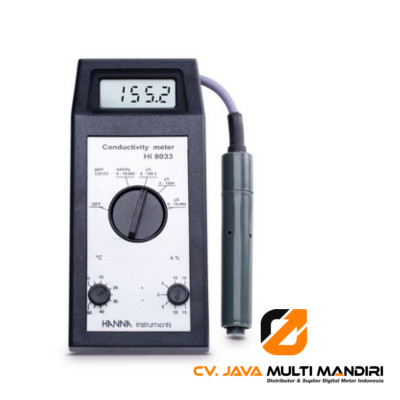 Multi Range Portable EC0-TDS Meter - HI8033