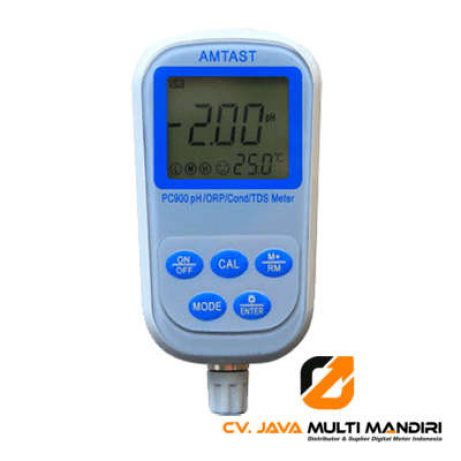 Alat Ukur pH Meter 7 in 1 AMTAST PC900