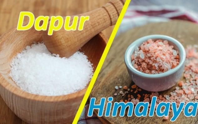Perbedaan Garam Himalaya dan Garam Biasa