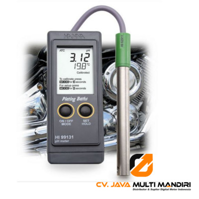 Plating pH Portable Meter HANNA INSTRUMENT HI99131
