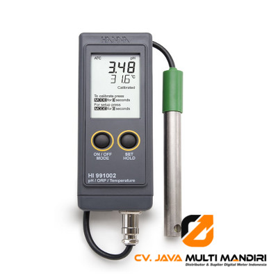 Portable pH-ORP-Temperature Meter HANNA INSTRUMENT HI991002