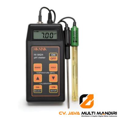 Portable pH-mV Meter HANNA INSTRUMENT HI8424