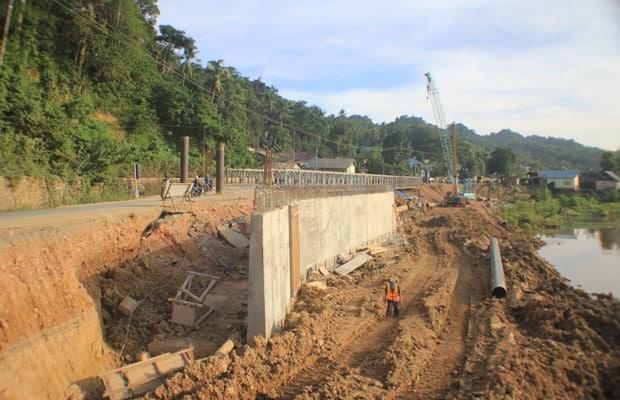 Proses Pekerjaan Oprit jembatan