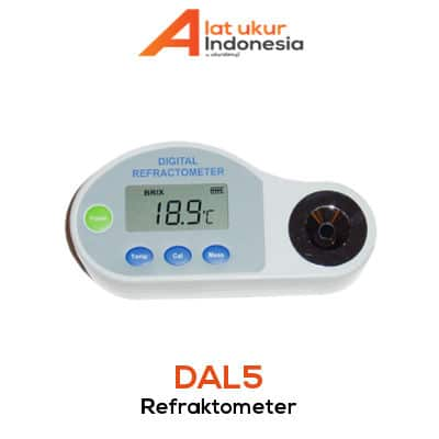 Refractometer Digital AMTAST DAL5
