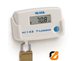 Temperature T-Logger with Locking Wall Cradle - HI143
