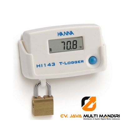 Temperature T-Logger with Locking Wall Cradle - HI143