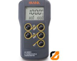 Thermometer Temperature Sensor Dengan Tinggi-Rendah Tampilan Batas - HI 93531