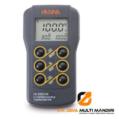 Termometer HANNA INSTRUMENT HI93531N