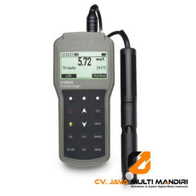 Waterproof Portable Dissolved Oxygen and BOD Meter – HI98193
