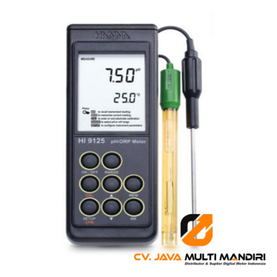 Waterproof Portable pH-mV Meter HANNA INSTRUMENT HI9125