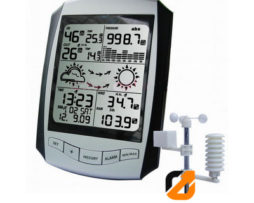 Wireless Professional Weather Station with RCC Clock AW001