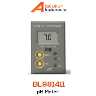 Alat Pemantau pH Hanna Instrument BL981411