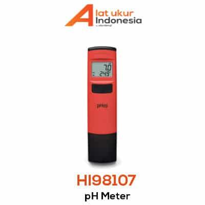 Alat Penguji pH HANNA INSTRUMENT HI98107