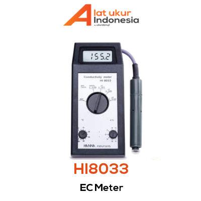 Alat Ukur EC HANNA INSTRUMENT HI8033