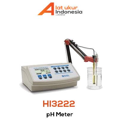 Alat Ukur pH HANNA INSTRUMENT HI3222