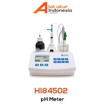 Alat Ukur pH HANNA INSTRUMENT HI84502