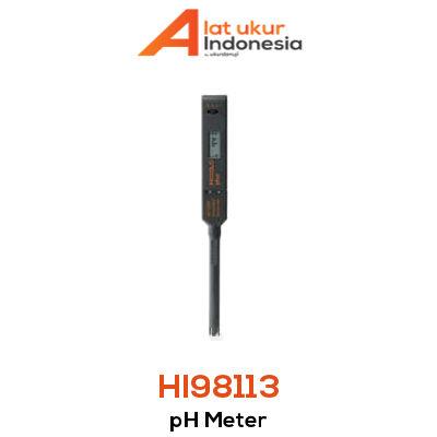 Alat Ukur pH HANNA INSTRUMENT HI98113
