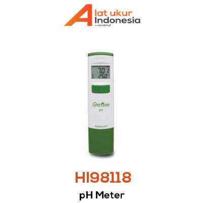 Alat Ukur pH HANNA INSTRUMENT HI98118
