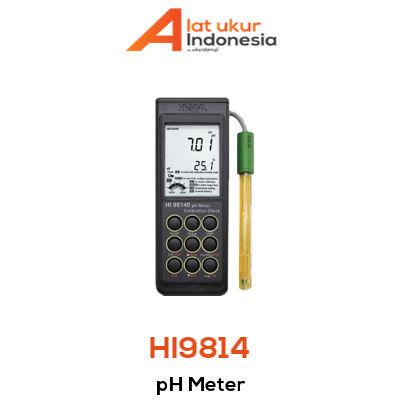 Alat Ukur pH HANNA INSTRUMENT HI9814