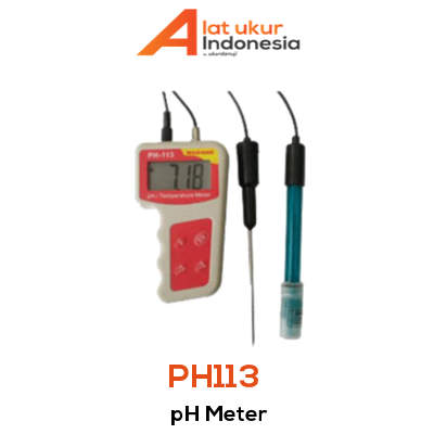 Alat Ukur pH Meter AMTAST PH113