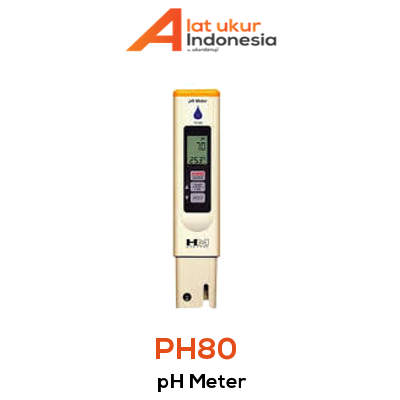 Alat Ukur pH Meter AMTAST PH80