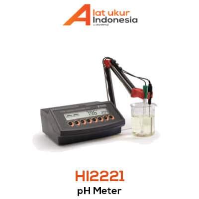 Alat Ukur pH / mV HANNA INSTRUMENT HI2221