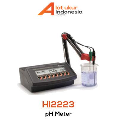 Alat Ukur pH / mV HANNA INSTRUMENT HI2223