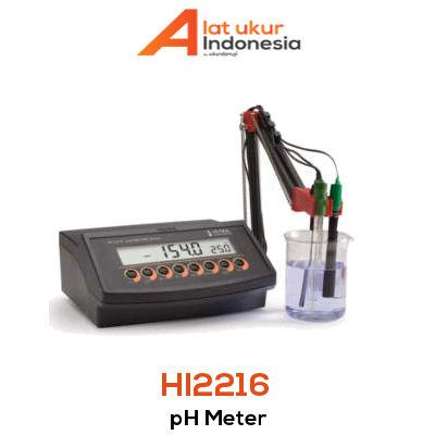 Alat Ukur pH / mV / ISE HANNA INSTRUMENT HI2216