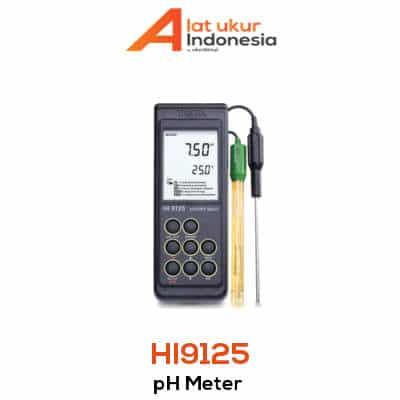 Alat Ukur pH Portabel HANNA INSTRUMENT HI9125