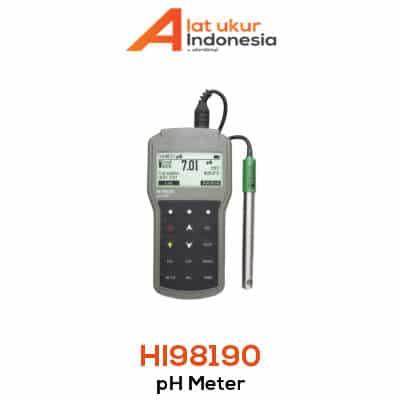 Alat Ukur pH Portabel HANNA INSTRUMENT HI98190