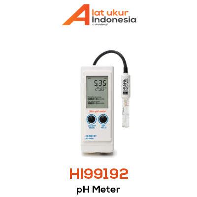 Alat Ukur pH Portabel HANNA INSTRUMENT HI99192