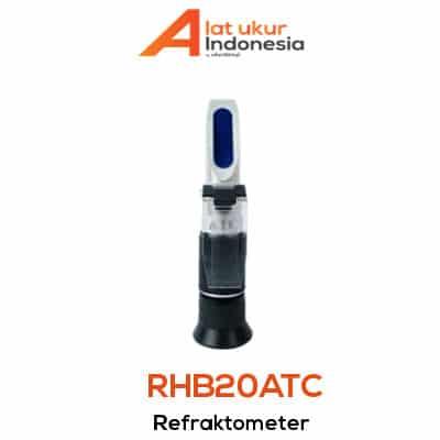 Alat Ukur Refraktometer AMTAST RHB20ATC