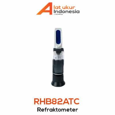 Alat Ukur Refraktometer Brix AMTAST RHB82ATC