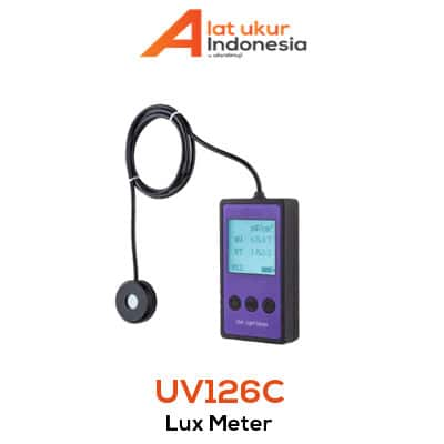 Alat Ukur Sinar Ultraviolet AMTAST UV126C