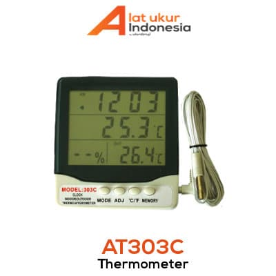 Alat Ukur Suhu dan Kelembaban AMTAST AT303C