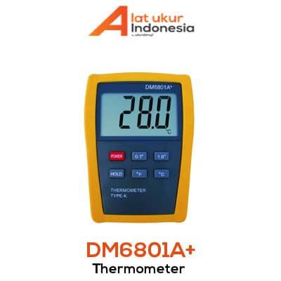 Alat Ukur Termometer AMTAST DM6801A+